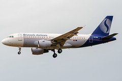 OO-SSK (PlanePixNase) Tags: aircraft airport planespotting bru ebbr brussels brüssel bruxelles zaventem brusselsairlines airbus 319 a319
