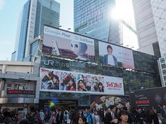 站前廣場 | 涉谷駅 (sonic010739) Tags: olympus omd em5markii olympusmzdigital1240mm japan tokyo