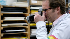 Peel Apart (scottboms) Tags: impossibleproject behindthescenes film arl analogresearchlab doc polaroid documentary menlopark california