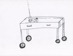 Cart (Laboratory5) Tags: balckandwhite paper ink