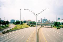 399700-R1-071-34 (elsuperbob) Tags: detroit michigan emptyspaces emptystreets expressway freeway skyline fujifilmtiarazoom kodak portra160 kodakportra160 newtopographics