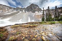 Mountain Waters (RH Miller) Tags: rhmiller reedmiller landscape mountains water lake meadowlake snow spring idaho usa