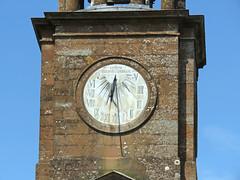 St Andrew's Church, Kirkandrews-upon-Esk, 16 July 19 (3 of 3) (gillean55) Tags: canon powershot sx60 hs superzoom bridge camera north cumbria longtown riveresk kirkandrewsuponesk standrew's church sundial clock clocktower