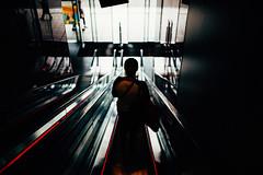Convenience (ewitsoe) Tags: city erikwitsoecome nikond750 sigma35mmart spring street warszawa erikwitsoe everydaylife people poland urban warsaw escalator woman goingdown shopping life modern reflection everydaymoments
