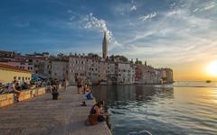Rovinj (32) (Vlado Ferenčić) Tags: rovinj istria adriatic sea sunset adriaticsea jadranskomore nikond600 nikkor173528 seascape citiestowns cityscape clouds hrvatska croatia rovigno