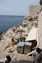 Dubrovnik Old Town-190716-139.jpg (Phil Mercer-Kelly) Tags: sea citywalls got philmercer oldtown kayak fort defences mercerkelly dubrovnik dalmatiancoast croatia 2019 dalmatia gameofthrones