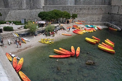 Dubrovnik Old Town-190716-151.jpg (Phil Mercer-Kelly) Tags: sea citywalls got philmercer oldtown kayak fort defences mercerkelly dubrovnik dalmatiancoast croatia 2019 dalmatia gameofthrones
