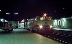 216 089 Osnabrück (A. Lippincott) Tags: deutsche bundesbahn osnabrück diesel baureihe 216 v160 eilzug station bahnhof