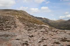 Path Ascending (steve_whitmarsh) Tags: aberdeenshire scotland scottishhighlands highlands landscape mountain hills path rock rocks topic