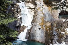 IMG_0865 (Nomadventurous) Tags: banffnationalpark canada snow ice glaciers mountains lake waterfall frozen fulltimerv rvlife rving travel wanderlust adventure explore nature