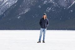IMG_0843 (Nomadventurous) Tags: banffnationalpark canada snow ice glaciers mountains lake waterfall frozen fulltimerv rvlife rving travel wanderlust adventure explore nature