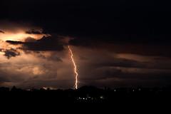 Storm (francesco_if ) Tags: storm lighting rain clouds sunset light black thunderstorm nikon d3 landscape sky beautifull wonder amazing nature weather meteo