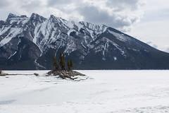 IMG_0841 (Nomadventurous) Tags: banffnationalpark canada snow ice glaciers mountains lake waterfall frozen fulltimerv rvlife rving travel wanderlust adventure explore nature