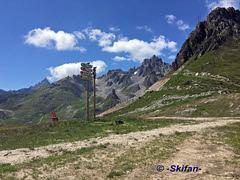 Du Lac Bleu: vue vers le Saulire (-Skifan-) Tags: skifan 3vallées 3v courchevel