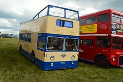 LDX76G (PD3.) Tags: leyland atlantean ipswich ldx76g ldx 76g open top topper topless wiston steam rally bus buses lorry lorries traction engine roller park west sussex uk england steyning southern transit