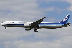 Nippon To The Future... (Ben Cavers) Tags: allnipponairways boeing777381er boeing777300er boeing777 boeing 777381er 777300er 777 allnipponairwaysboeing777 allnipponairways777 ana tripleseven triple7 ja791a londonheathrowairport londonheathrow heathrow heathrowairport lhr egll widebodyjet passengerjet jetliner jet commercialairliner commercialaviation airplane airliner aircraft aviation plane