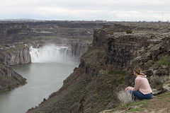 IMG_0980 (Nomadventurous) Tags: twinfalls idaho shoshonefalls waterfall gorge snakeriver river landscape fulltimerv rvlife rving travel wanderlust adventure explore nature