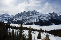 IMG_0885 (Nomadventurous) Tags: banffnationalpark canada snow ice glaciers mountains lake waterfall frozen fulltimerv rvlife rving travel wanderlust adventure explore nature