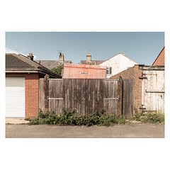 Horses (John Pettigrew) Tags: lines tamron d750 nikon fences mundane documentary urban imanoot banal walls trailers topographics gates horsebox alley angles johnpettigrew suburban
