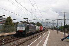 SBB 189 290 te Zwijndrecht (vos.nathan) Tags: zwijndrecht zwd br 189 baureihe sbb schweizerische bundesbahnen chemins de fer fédéraux suisses cff ferrovie federali svizzere ffs cargo 290