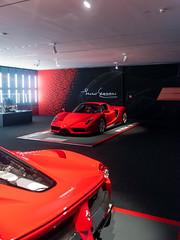 Enzo (Mattia Manzini Photography) Tags: ferrari enzo supercar supercars cars car carspotting carbon nikon d750 v12 red automotive automobili auto automobile italy italia maranello museum museoferrari limited exotics hypercar