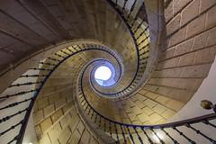 DSC_5296 (Jesus DTT) Tags: escaleras caracol museodelpueblogallego santiagodecompostela stairs spiralstaircase staircase espiral