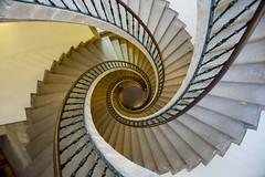 DSC_5318 (Jesus DTT) Tags: escaleras caracol museodelpueblogallego santiagodecompostela spiralstaircase stairs staircase espiral