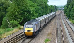 HST heading South (The Walsall Spotter) Tags: crosscountry trains highspeedtrain hst intercity125 class43 powercar 43384 claycross derbyrailwaystation networkrail britishrailways