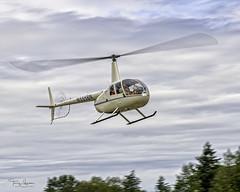Glacier Aviation 2001 Robinson R44 C/N 1079 (N555BN) (Hawg Wild Photography) Tags: glacier aviation 2001 robinson r4 n555bn helicopters terry green nikon d850 sigma 150600mm contemporary skagitcountywashington skagitvalley kbvs