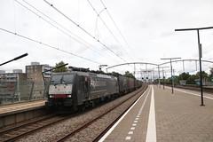 SBB 189 284 te Zwijndrecht (vos.nathan) Tags: zwijndrecht zwd br 189 baureihe schweizerische bundesbahnen chemins de fer fédéraux suisses cff ferrovie federali svizzere ffs sbb cargo 284
