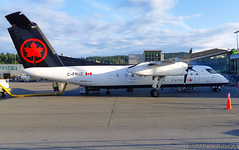 C-FRUZ Air Canada Express Bombardier Dash 8-311@YYJ 12Jul19 (Spotter Brandon) Tags: cfruz aircanada aircanadaexpress bombardier dash8 dh8c dash8311 yyj cyyj victoria