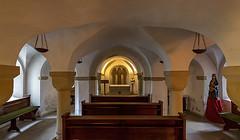 Krypta in der Stiftskirche St. Bonifatius in Freckenhorst (ulrichcziollek) Tags: nordrheinwestfalen münsterland freckenhorst krypta bonifatius stiftskirche kirche gotik gotisch gewölbe romanik romanisch