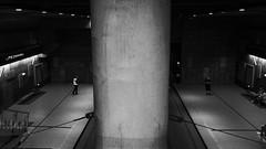 """""""Underground"""" (Lisq2003) Tags: underground bw architecture iphone7s"""