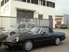 Alfa Romeo Spider 2.0 Injection Quadrifoglio Verde 1987 (LorenzoSSC) Tags: alfa romeo spider 20 injection quadrifoglio verde 1987