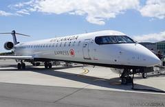 C-FJZD Air Canada Express Bombardier CRJ-705@YYJ 14Jul19 (Spotter Brandon) Tags: cfjzd aircanadaexpress bombardier crj crj900 crj705 yyj cyyj victoria