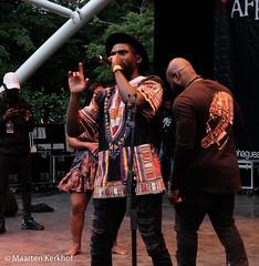 DJ Eric (2 van 3) (Maarten Kerkhof) Tags: afrobeatsinthepark fujifilmxe2x thehagueafricanfestival thehagueafricanfestival2019 zuiderparktheater xe2