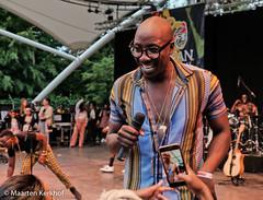 Sauti Sol (Kenia) (15 van 24) (Maarten Kerkhof) Tags: afrobeatsinthepark fujifilmxe2x sautisolkenia thehagueafricanfestival thehagueafricanfestival2019 zuiderparktheater xe2