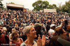 The audience. (Maarten Kerkhof) Tags: afrobeatsinthepark fujifilmxe2x okésèneband senegal thehagueafricanfestival thehagueafricanfestival2019 zuiderparktheater xe2