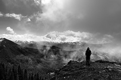 (sparth) Tags: summitlake mountrainier 2019 sparth blackwhite blackandwhite bw noirblanc noiretblanc brouillard fog foggy landscape washington washingtonstate wa