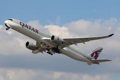 A7-ANG - LHR (B747GAL) Tags: qatar airbus a3501041 lhr heathrow egll a7ang
