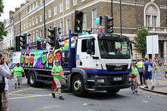IMG_8043 (routemaster2217) Tags: london prideinlondon2019 gaypride lbgtq loveislove pridematters pridejubilee 19692019 transportforlondon tfl man lorry wagon truck