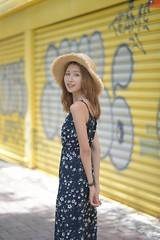 李岱倫 (玩家) Tags: 2019 台灣 台北 士林官邸 人像 外拍 正妹 模特兒 戶外 定焦 無後製 無修圖 taiwan taipei portrait glamour model girl female outdoor d610 85mm prime