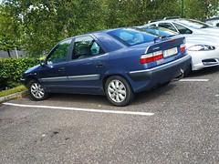 2000 Citroën Xantia 2.0 HDi 90 (Ross.K) Tags: 2000 citroen xantia 20 hdi 90 blue 00c2054 berline citroën