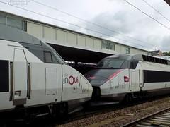 TGV Réseau n°538 + 548 (ChristopherSNCF56) Tags: tgv réseau sncf train inoui 538 rames 548 gare angers
