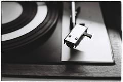 Classic. (silonija) Tags: music gramophone tesla old kinofilm 35mm analog analogphotography ilford praktica blackandwhite