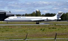 ALK Airlines LZ-ADV, OSL ENGM Gardermoen (Inger Bjørndal Foss) Tags: lzadv alkairlines mcdonnell douglas md82 osl engm gardermoen