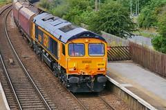 Althorpe Coal (JohnGreyTurner) Tags: br rail uk railway train transport diesel engine locomotive lincs lincolnshire 66 class66 shed gbrf althorpe keadbybridge freight goods