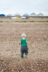 Day 134 / Y8. (evilibby) Tags: arthur toddler eastbeach shoebury shoeburyness beach seaside beachhuts project365