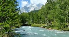 La rivière du Val Ferret (myvalleylil1) Tags: montagne alpes vacances rivière dora italie