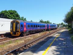 158763 Torre (9) (Marky7890) Tags: gwr 158763 class158 expresssprinter 2t16 torre railway devon rivieraline train